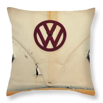Throw Pillow featuring the photograph Back In The Day by Robin Dickinson