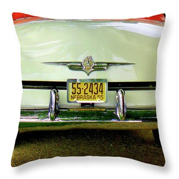 Back To 55 Throw Pillow
