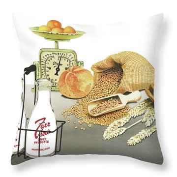 Throw Pillow featuring the painting Back To Basics by Ferrel Cordle