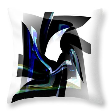 Back To Life  Throw Pillow by Thibault Toussaint
