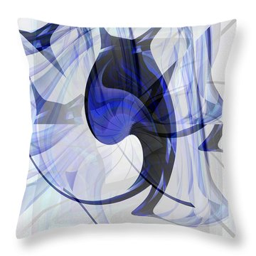 Back To Life 4 Throw Pillow by Thibault Toussaint