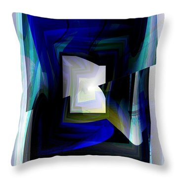 The End Of The Tunnel Throw Pillow