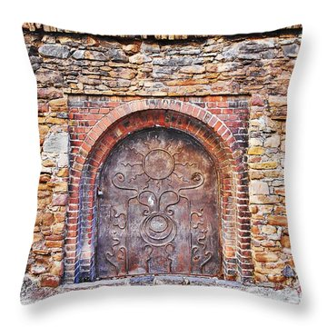 Back To Medieval Times Throw Pillow