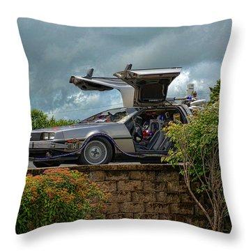 Back To The Future II Replica Throw Pillow