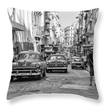 Back To The Past Throw Pillow