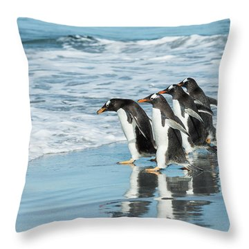 Back To The Sea. Throw Pillow