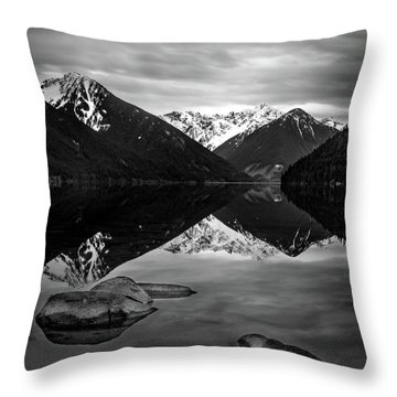 Backcountry Serenity Throw Pillow
