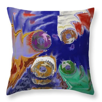 Baking Throw Pillow