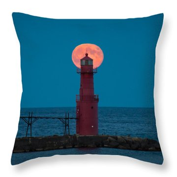 Backlighting II Throw Pillow