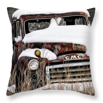 Backlot Treasure Throw Pillow