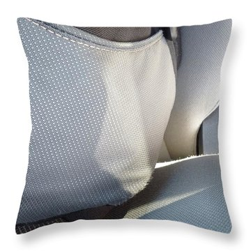 Backpacklines Throw Pillow