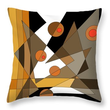 Backstage Confusion Throw Pillow