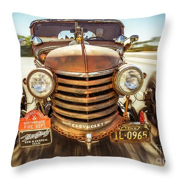 Throw Pillow featuring the photograph Bad Boy's Toy by Jola Martysz