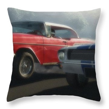 Bad Company Throw Pillow