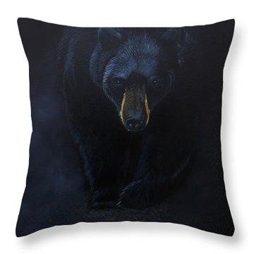 Bad Encounter Throw Pillow