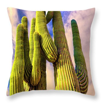 Bad Hombre Throw Pillow by Paul Wear