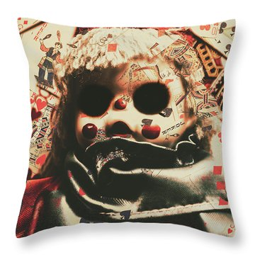 Magic Tricks Throw Pillows