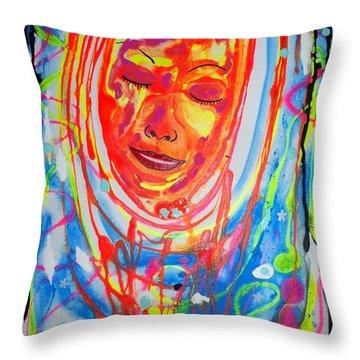 Baddreamgirl Throw Pillow
