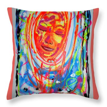 Baddreamgirl Throw Pillow