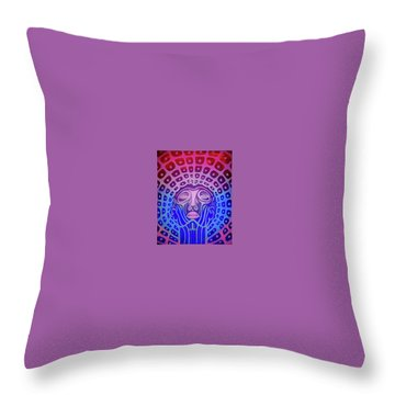 Baddrugs Throw Pillow