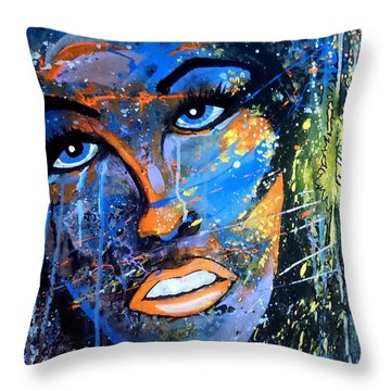 Badfocus Throw Pillow