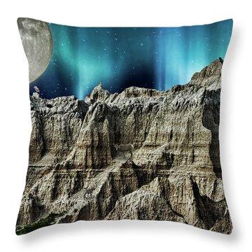 Badland's Borealis Throw Pillow