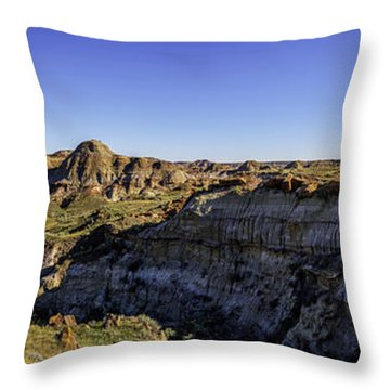 Badlands Throw Pillow