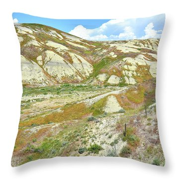 Badlands Of Wyoming Throw Pillow