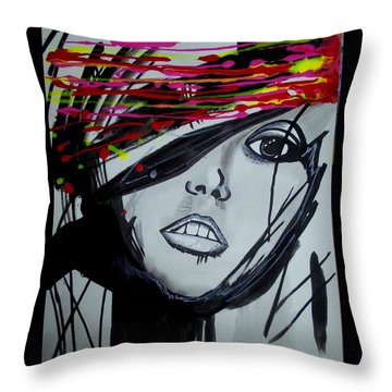 Badview Throw Pillow