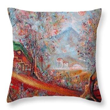 Bag End  Throw Pillow by Joe  Gilronan