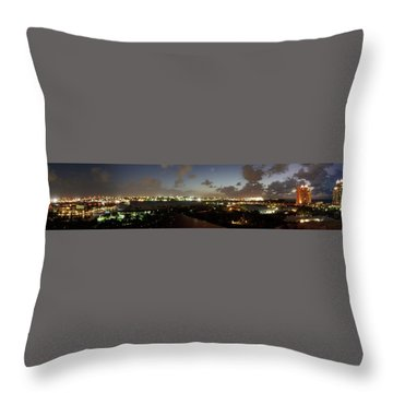 Bahama Night Throw Pillow by Jerry Battle