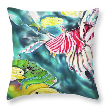 Bahamaian Delicacies Throw Pillow