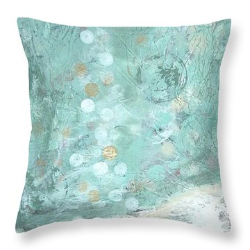 Bahamian Rapture I Throw Pillow