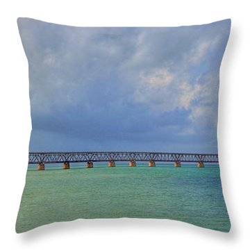 Bahia Honda Throw Pillow
