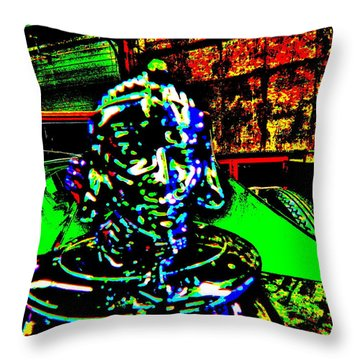 Bahre Car Show II 23 Throw Pillow
