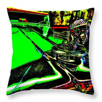 Bahre Car Show II 24 Throw Pillow