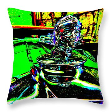 Bahre Car Show II 25 Throw Pillow