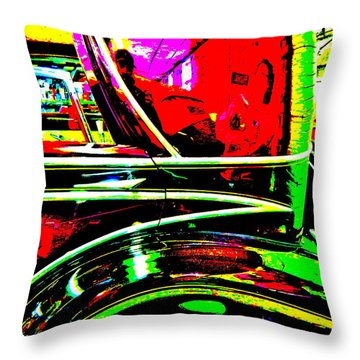 Bahre Car Show II 26 Throw Pillow