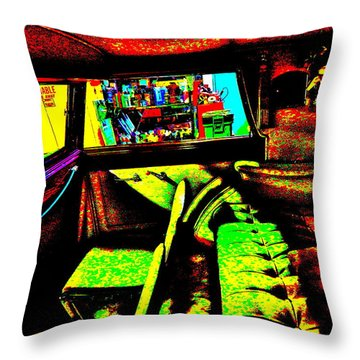 Bahre Car Show II 27 Throw Pillow