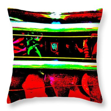 Bahre Car Show II 28 Throw Pillow