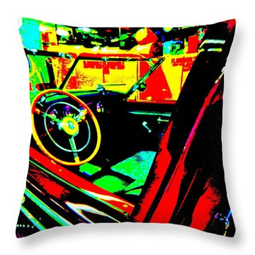 Bahre Car Show II 29 Throw Pillow