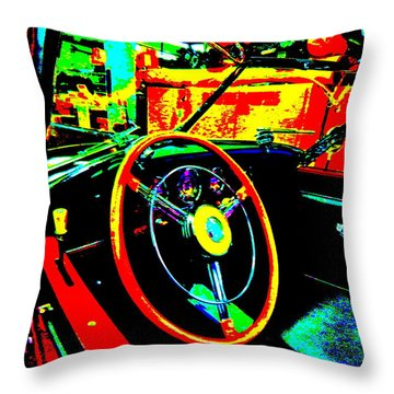 Bahre Car Show II 30 Throw Pillow