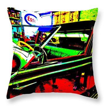 Bahre Car Show II 31 Throw Pillow