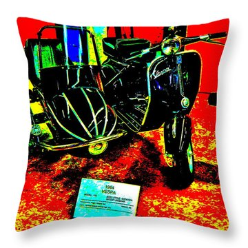 Bahre Car Show II 33 Throw Pillow