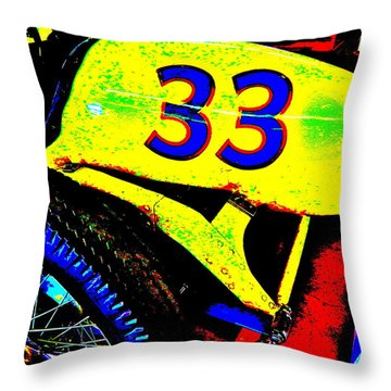 Bahre Car Show II 34 Throw Pillow