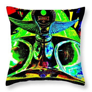 Bahre Car Show II 36 Throw Pillow