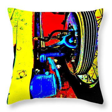Bahre Car Show II 37 Throw Pillow
