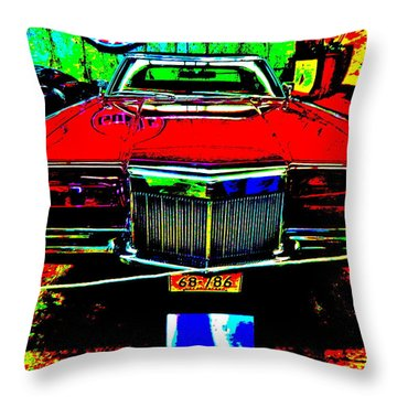 Bahre Car Show II 38 Throw Pillow