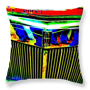 Bahre Car Show II 39 Throw Pillow