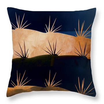 Baja Landscape Number 1 Square Throw Pillow